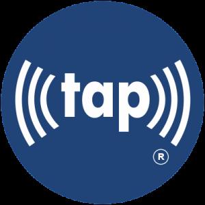 trademark (((tap))) logo