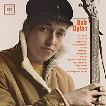 Bob Dylan's first album